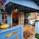 Le storie dei clienti: AJ, Kris e il loro meraviglioso Blue Haven Studio Lodge a Londra