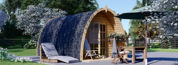 Casetta in legno da giardino BRETA (28 mm), 3x5 m, 15 m²