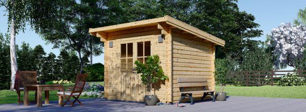 Casetta in legno da giardino MALTA (34 mm), 3x3 m, 9 m²