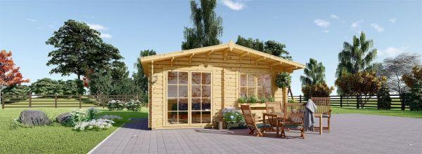 Casetta da giardino WISSOUS (44 mm) 5x4 m 20 mq