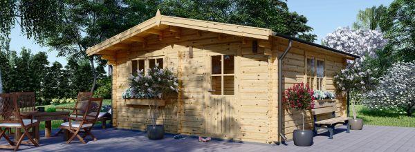 Casetta in legno da giardino DREUX (44 mm), 6x6 m, 36 m²