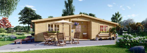 Casa in legno FILL (44 mm) 60 mq