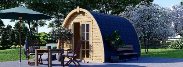 Casetta in legno da giardino BRETA (28 mm), 3x4 m, 12 m²
