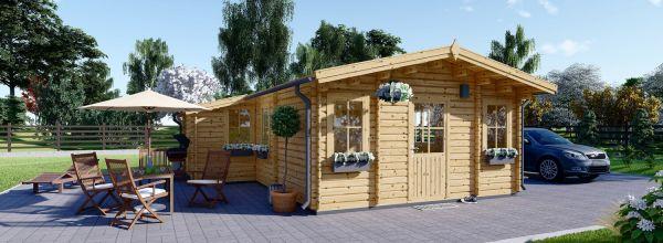 Casa in legno DIJON (44 mm), 44 m²