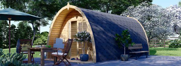 Casetta in legno da giardino BRETA (28 mm), 3x6 m, 18 m²