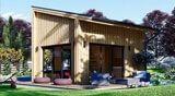 Case in legno da giardino