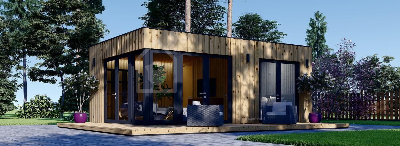 Casa da giardino PREMIUM (Coibentata, pannelli SIP), 6.5x4.5 m, 30 m² visualization 1