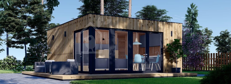 Casa da giardino PREMIUM (Coibentata, pannelli SIP), 6x5 m, 30 m² visualization 1