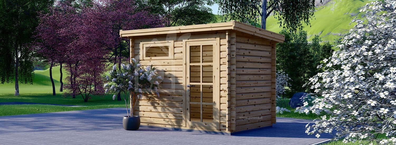 Casetta in legno da giardino MODERN (28 mm), 3x2 m, 6 m² visualization 1