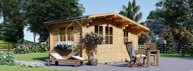 Casetta in legno da giardino BENINGTON (34 mm), 4.5x3 m, 13 m² visualization 1