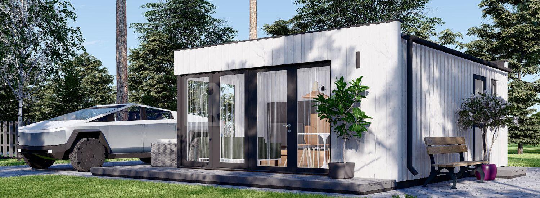 Casa da giardino ELON (pannelli coibentati SIP), 6x5 m, 30 m² visualization 1