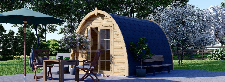 Casetta in legno da giardino BRETA (28 mm), 3x4 m, 12 m² visualization 1