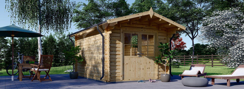 Casetta in legno da giardino PETER (34 mm), 3x3 m, 9 m² visualization 1