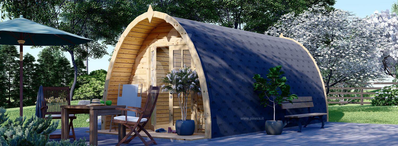 Casetta in legno da giardino BRETA (28 mm), 3x6 m, 18 m² visualization 1