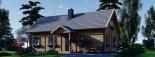 Casa in legno coibentata VERA 132 mq + terrazza 13.5 mq  visualization 6