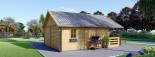 Casa in legno ANGERS (44 mm) 36 mq + terrazza 19 mq  visualization 7