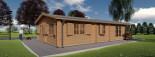 Casa in legno coibentata DONNA 63 mq + 11.5 mq di porticato visualization 6