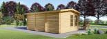 Casetta da giardino DEVON (44 mm) 6x4 m 24 mq visualization 3