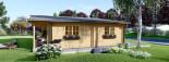 Casa in legno coibentata RIVIERA 100 mq + 20 mq di porticato visualization 5