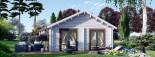 Casa in legno coibentata ANICA 71 mq visualization 3