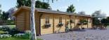 Casa in legno coibentata BRIGHTON 90 mq visualization 7