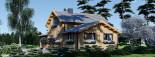 Casa in legno HOLLAND (66 mm) 113 mq + 13.25 di porticato visualization 8