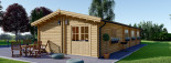 Casa in legno BRIGHTON (66 mm) 90 mq visualization 4