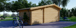 Casetta da giardino ISLA (66 mm) 18 mq + 7 mq di porticato visualization 5