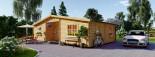 Casa in legno FILL (44 mm) 60 mq visualization 2