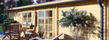 Casa in legno coibentata UZES 70 mq visualization 8