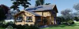 Casa in legno coibentata HOLLAND 113 mq + 13.25 di porticato visualization 1