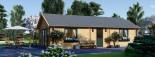 Casa in legno coibentata GRETA 54 mq visualization 3