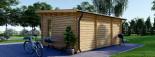 Casetta da giardino coibentata ESSEX 5x4 m 20 mq visualization 4