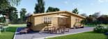 Casa in legno FILL (44 mm) 60 mq visualization 6