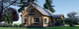 Casa in legno coibentata VERA 132 mq + terrazza 13.5 mq  visualization 4