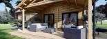 Casa in legno coibentata VERA 132 mq + terrazza 13.5 mq  visualization 10