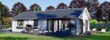 Casa in legno coibentata ANICA 71 mq visualization 1
