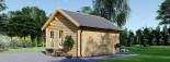 Casetta da giardino coibentata CLOCKHOUSE 5.5x4 m 22 mq visualization 5