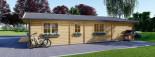 Casa in legno coibentata LINDA 78 mq + terrazza 38 mq  visualization 5