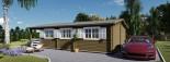 Casa in legno HYMER (66 mm) 42 mq + 10 mq di porticato visualization 10