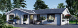 Casa in legno coibentata ADELE 68 mq visualization 6