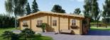 Casa in legno coibentata RIVIERA 100 mq + 20 mq di porticato visualization 8