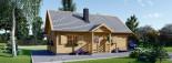 Casa in legno EMMA (66 mm) 83 mq visualization 6