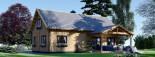 Casa in legno coibentata VERA 132 mq + terrazza 13.5 mq  visualization 3