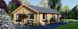 Casa in legno coibentata GRETA 54 mq visualization 7