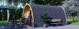 Casetta da giardino BRETA (28 mm) 3x5 m 15 mq visualization 5