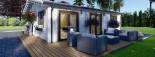Casa in legno coibentata ALICE 72 mq visualization 9