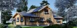 Casa in legno HOLLAND (66 mm) 113 mq + 13.25 di porticato visualization 6