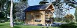 Casa in legno AVIGNON (44 mm) 20 mq + 16 mq di mezzanino visualization 4