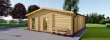 Casa in legno MILA (44 mm) 56 mq visualization 4